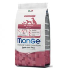 MONGE ADULT marha&rizs 15kg MONOPROTEIN
