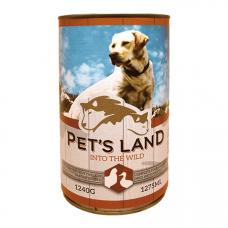 PET'S LAND 40%hús 1240g