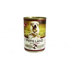PET'S LAND 40%hús 415g JUNIOR