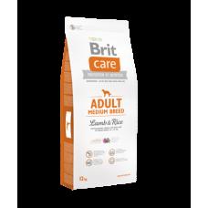 BRIT CARE ADULT Medium bárány&rizs 12kg